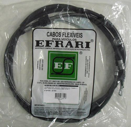 cabo freio mão pointer traseiro a disco 1993 a 1994 - ef768a