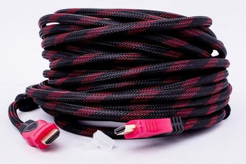 cabo hdmi 15m fibra filtro full vídeo pc full hd