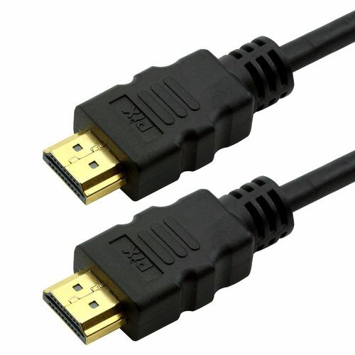 cabo hdmi 2.0 4k ultra hd 3d 19 pinos 2 metros pix premium