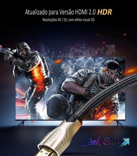 cabo hdmi 2.0 ugreen 2m 4k hdr - ps4 pro xbox one x apple tv