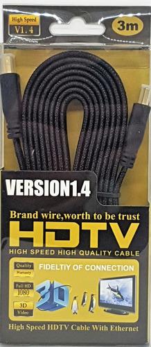 cabo hdmi hdtv versão 1.4 de 3 metros