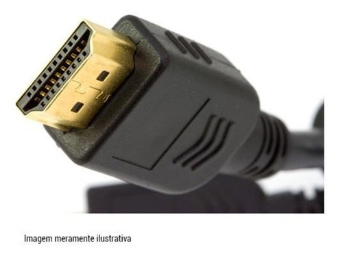cabo hdmi ouro 8m full hd 1080p ps3, tv, dvd, home, xbox
