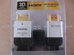 cabo hdmi sony com 2m p/ play 3 - xbox - 3d ... frete grátis