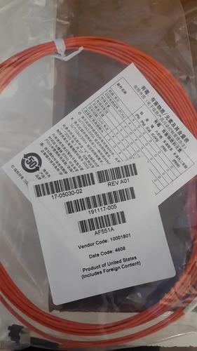 cabo hp 5m lc-lc duplex 50/125 multi-mode fiber patch af551a