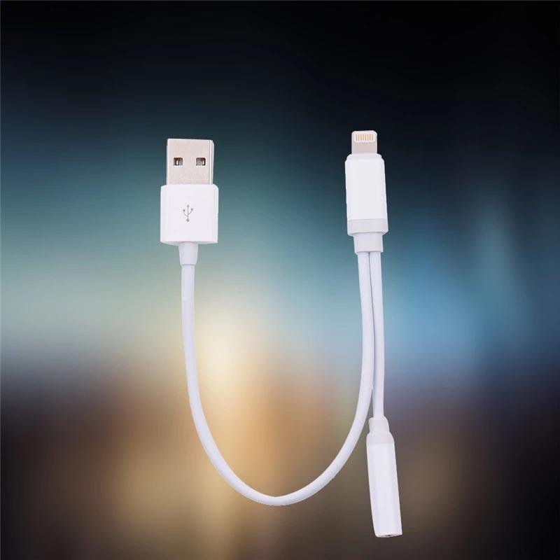 e823b195330 cabo iphone 7 e 7 plus conector de fone 2 em 1 musica apple. Carregando  zoom.