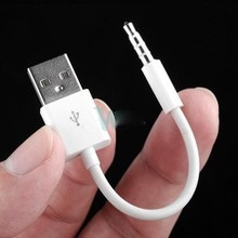 cabo ipod shuffle 3ª 4ª 5ª 6ª geração p/ dados e carregado