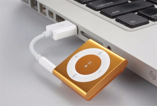 cabo ipod shuffle 3ª 4ª 5ª 6ª geração p/ dados e carregador