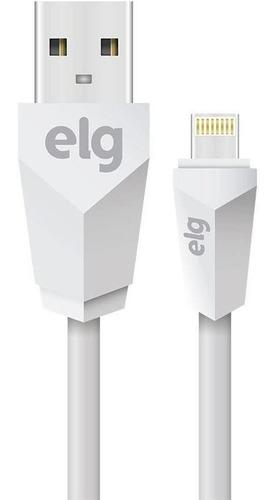 cabo lightning microusb 1 metro l810 elg - branco