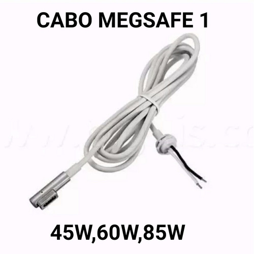 cabo magsafe fonte carregador apple macbook a1184 a1172 plug
