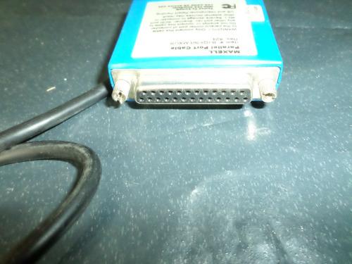cabo maxall parallel port cable item b-iqpra-mxus rev 824