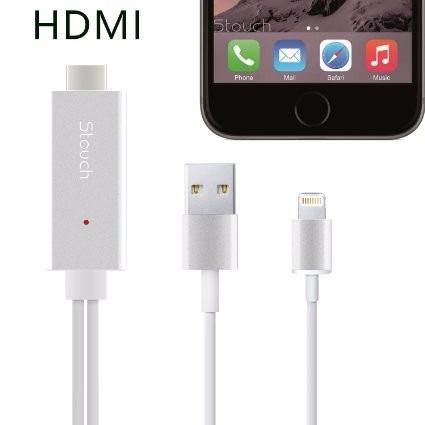 info for 12922 c7a9d Cabo Mhl Hdmi Para iPhone 5 6 6s iPad Espelhamento Tv