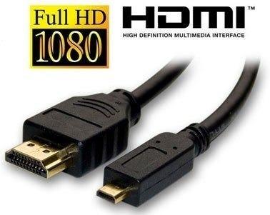 cabo micro hdmi x hdmi p/ fuji f300exr f305exr f80exr f85exr