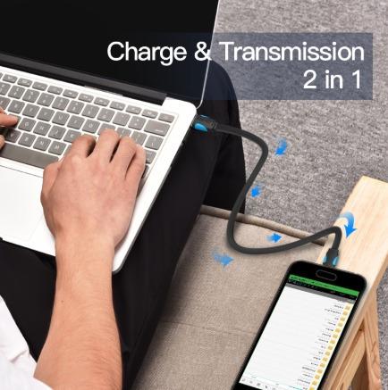 cabo micro usb cabo de carregamento rápido 2m