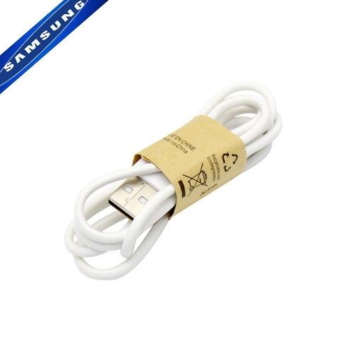 cabo micro usb original samsung carga e dados branco