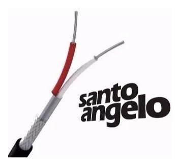 cabo microfone santo angelo x30 + sa2x 10m somos loja