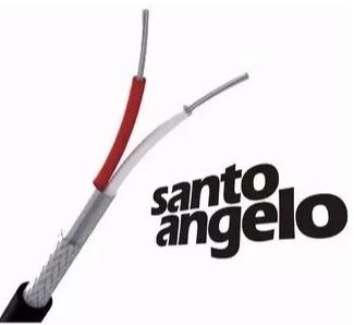 cabo microfone santo angelo x30 + sa2x 15m somos loja