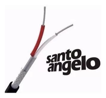 cabo microfone santo angelo x30 + sa2x 2m somos loja