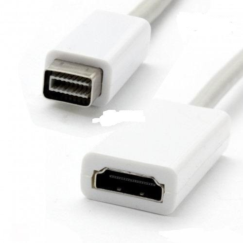 cabo mini dvi x hdmi para ibook macbook adaptador conversor