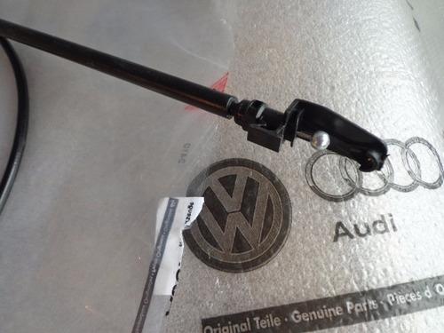 cabo original do puxador capo polo hatch sedan 2003-06
