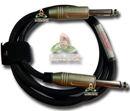 cabo p10 para instrumentos conectores amphenol 5 metros