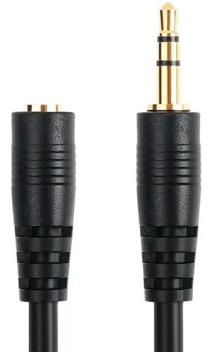 cabo p2 macho- p2 fêmea dourado reforçado 3mt 011-3