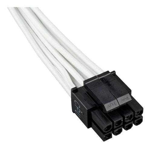 cabo para fonte corsair sleeved branco - cp-8920153