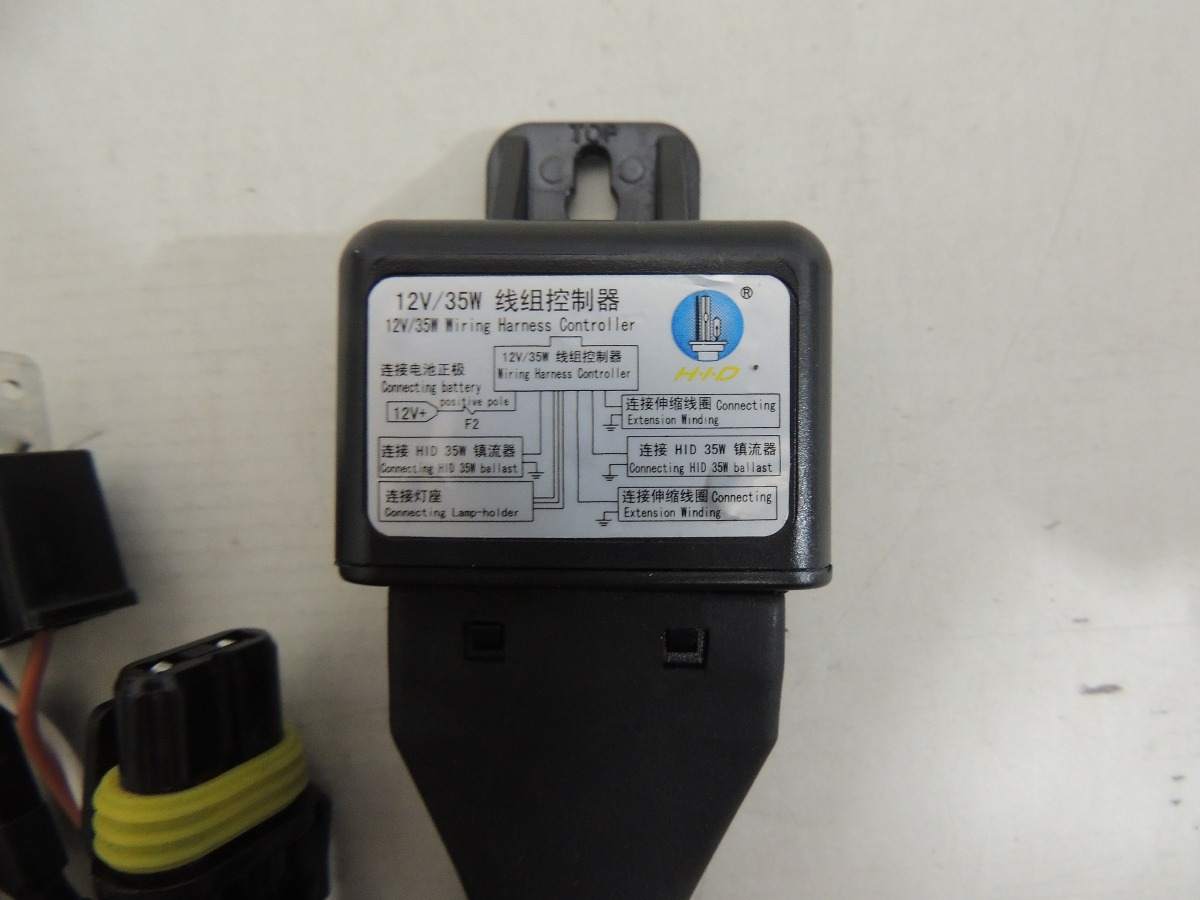 Cabo Para Kit Bi Xenon 12v 35w H4 Chicote E Rele R 3499 Em Hid Controller Wiring Harness Carregando Zoom