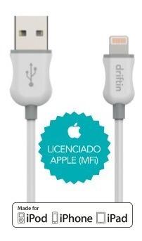 cabo para lightning homologado apple 1m preto iphone s5