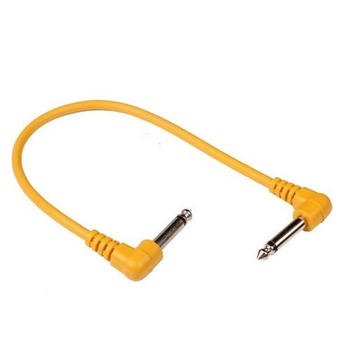 cabo pedal de efeito guitarra violão baixo p10 30cm