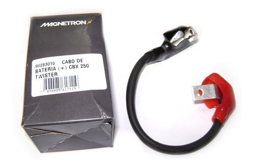 cabo positivo bateria moto honda cbx 250 twister