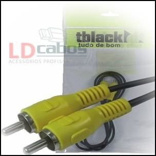 cabo rca 1 + 1 video t black 15 mt ld cabos