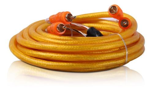 cabo rca 5 metros hi-end laranja
