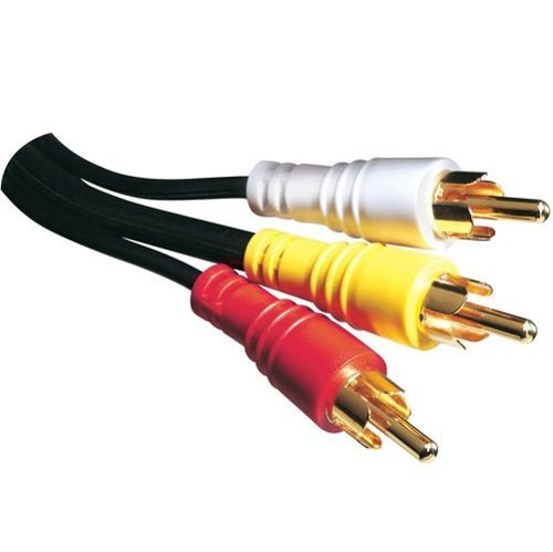 cabo rca áudio e video 3 rca 0,80 cm