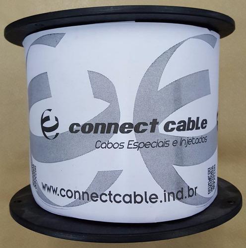 cabo rede cat5e preto 305m cat5-e cat-5e utp lan connect
