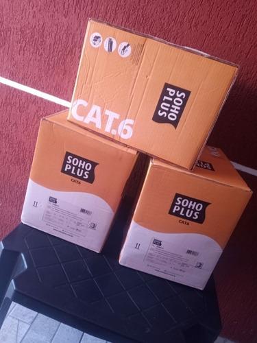 cabo rede cat6 , caixa fechada