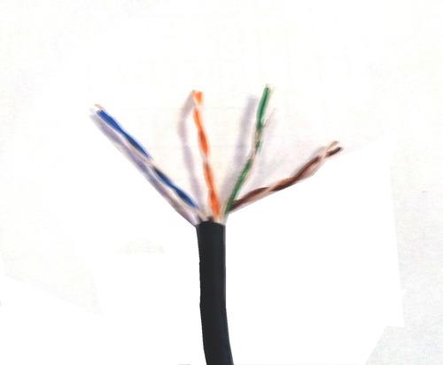 cabo rede lan externo cat5e utp 4p cmx cx 305m frete grátis