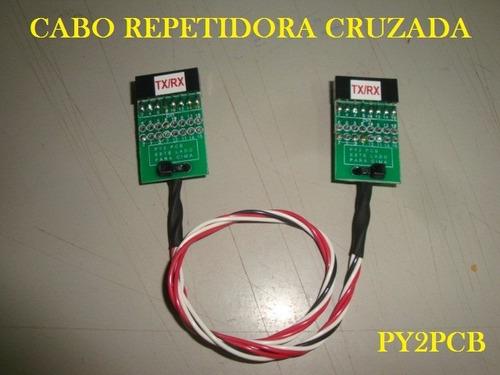cabo repetidora motorola cross band em200 em400 gm300 py2pcb