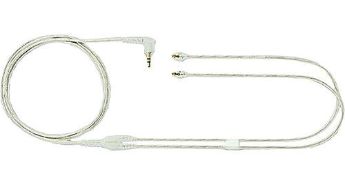 cabo reposição shure fone de ouvido eac64cl se115-cl se215