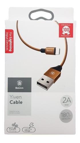 cabo residente baseus original yiven ipad iphone 5/6s/7/8 x