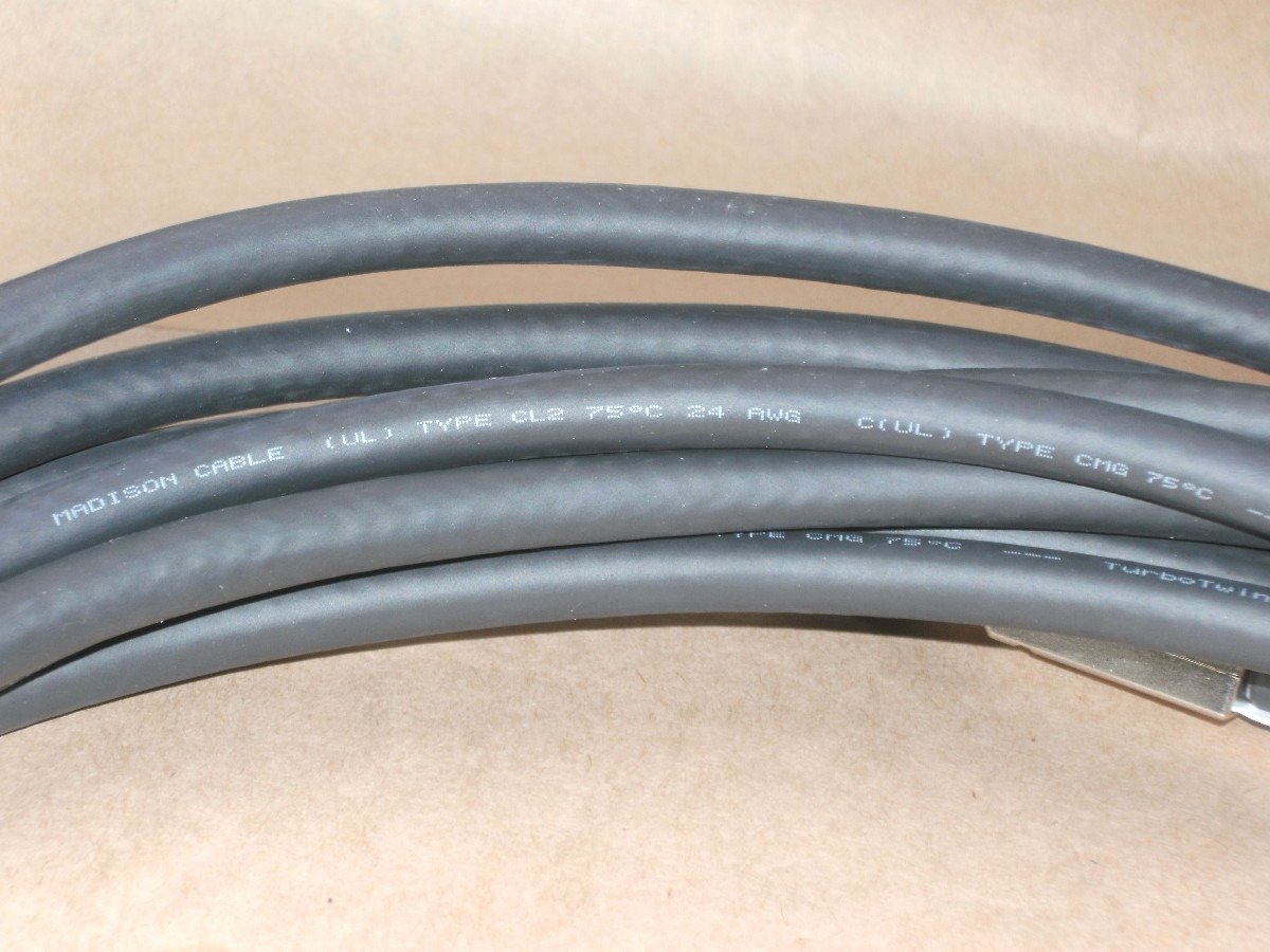 Cabo Sas 26 Pinos Madison Cable (ul) Type Cl2 75 C 24 Awg - R$ 450 ...