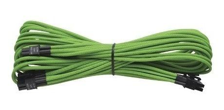 cabo sleeved corsair extensão 24 pin atx 2a geração verde