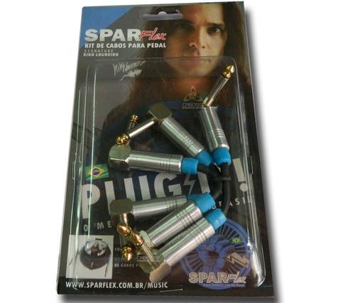 cabo sparflex p/ pedal efeitos signature kiko loureiro 3pç
