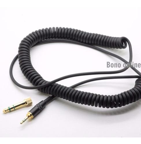 cabo stereo reposição para fones pioneer hdj 2000