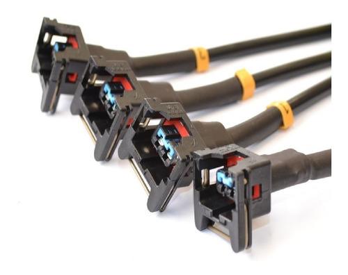 cabo testar 4 bicos  bico injetor conector padrão cab-080aa