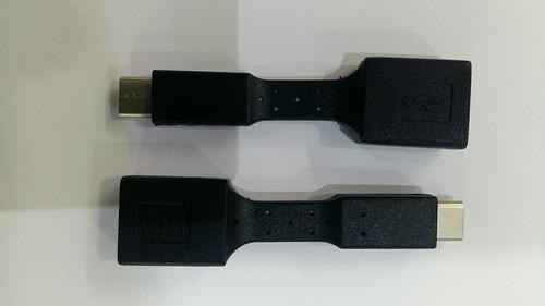 cabo tipo type c otg 5cm usb 3.0 femea pendrive frete grati