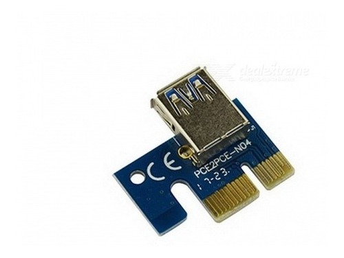 cabo usb 3.0 pci-e express 1x p/ 16x riser card mineracao