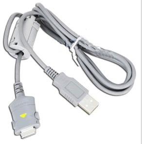 cabo usb camera digital samsung digimax s600  (18pin) prata