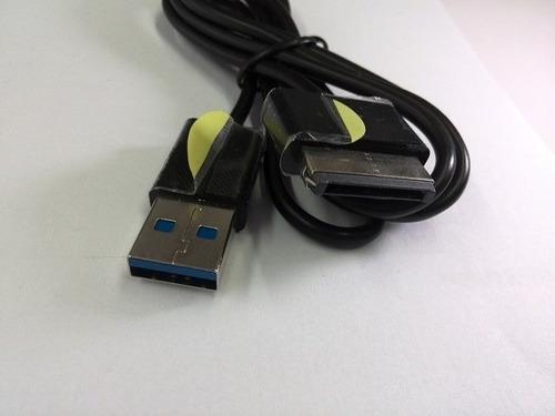 cabo usb + carregador fonte tablet asus eee pad slider sl101