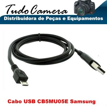 cabo usb cb5mu05e - samsung st93, st150f, mv900f, mv800