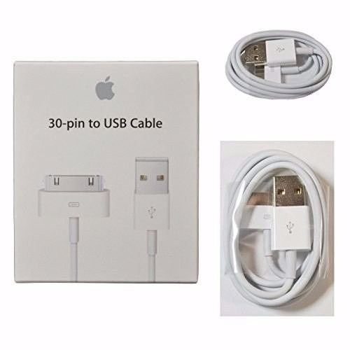 cabo usb original para apple iphone 3g 3gs 4g 4s ipad ipod